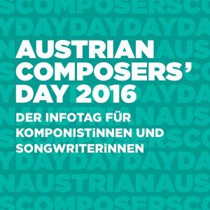 FC Gloria zu Gast beim Austrian Composers' Day 2016